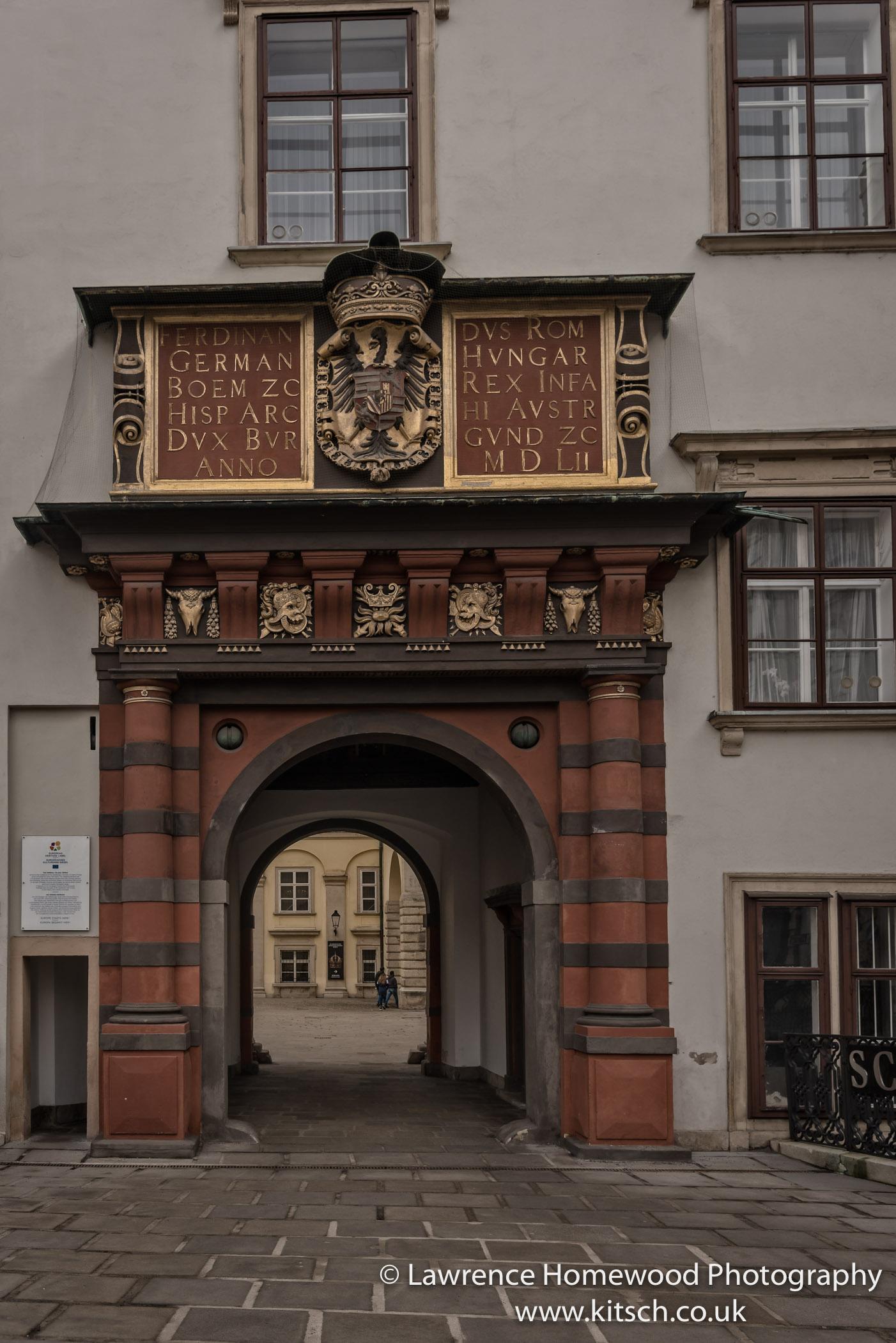Swiss Gate Hofburg Palace Vienna