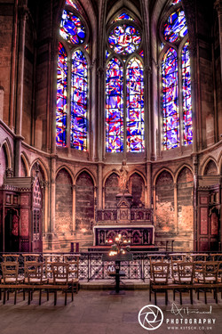 Reims Cathedral windows