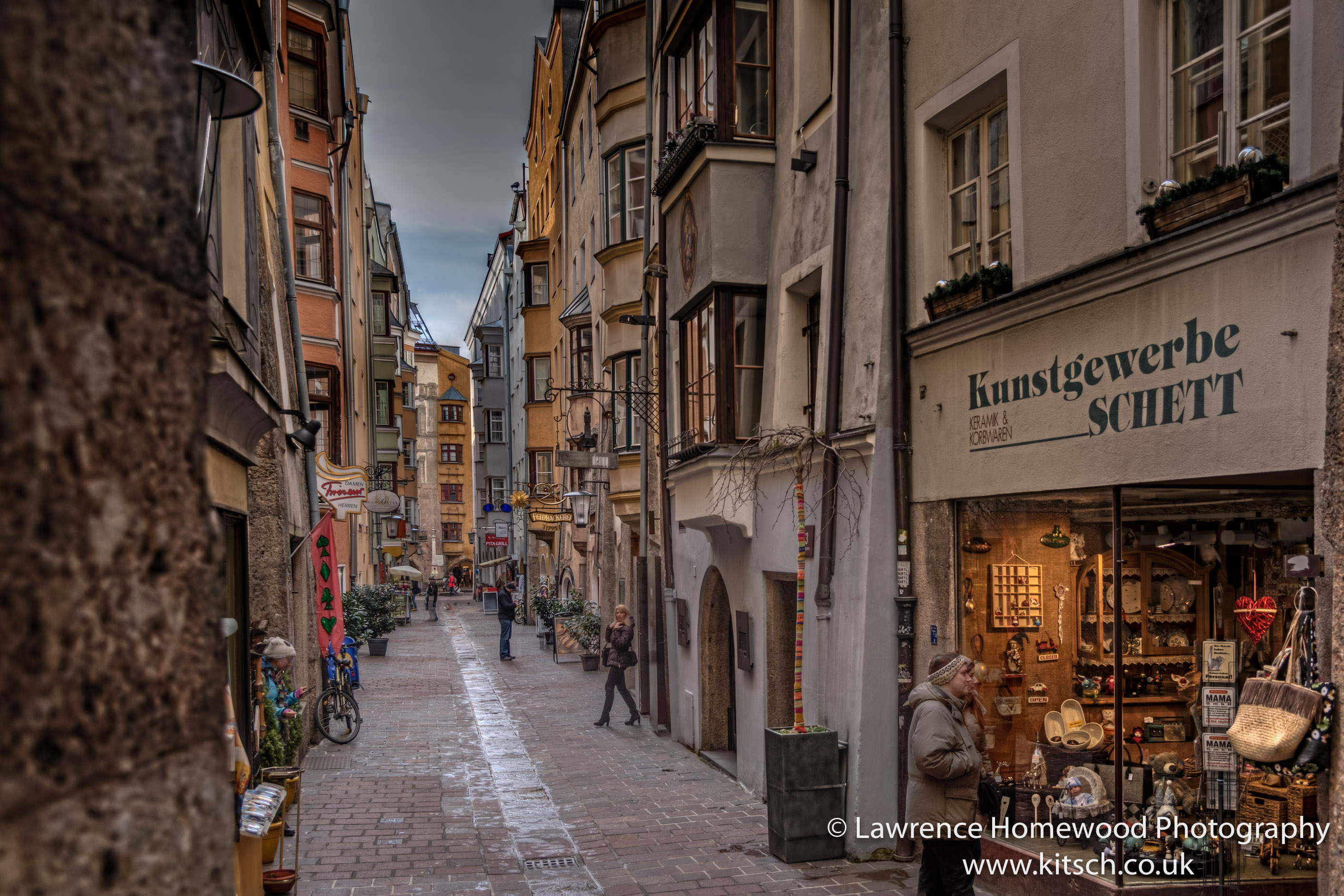 The Streets of Innsbruck