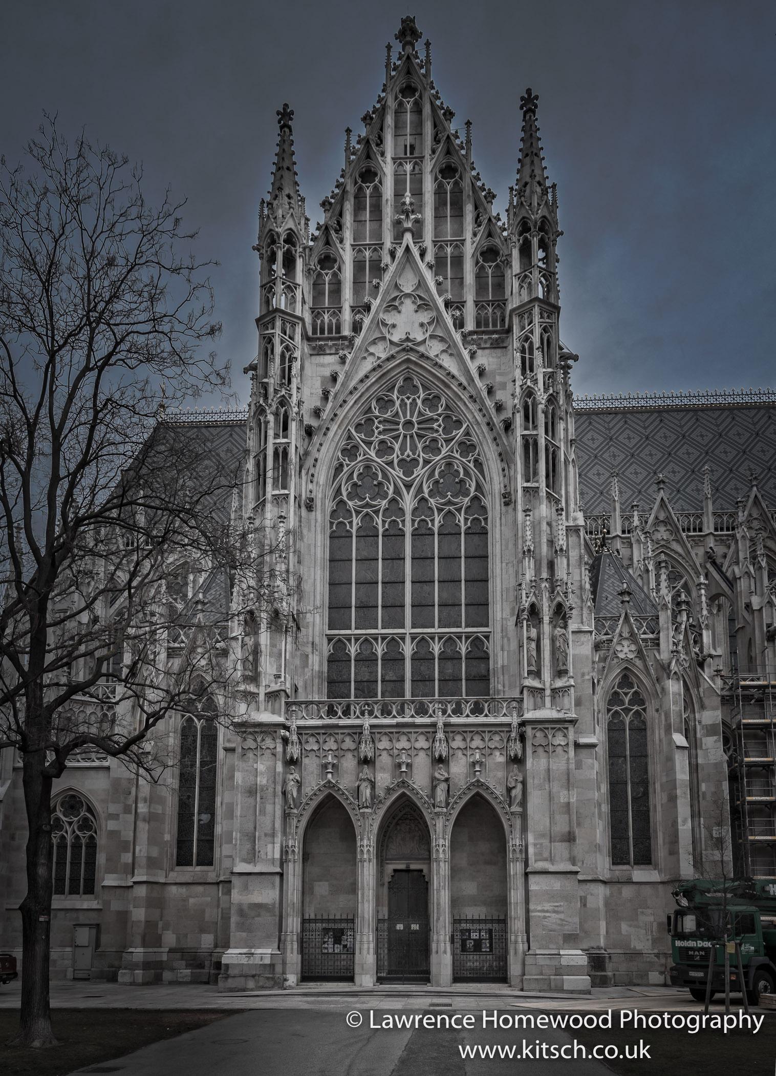 Baroque Church vIENNA 1
