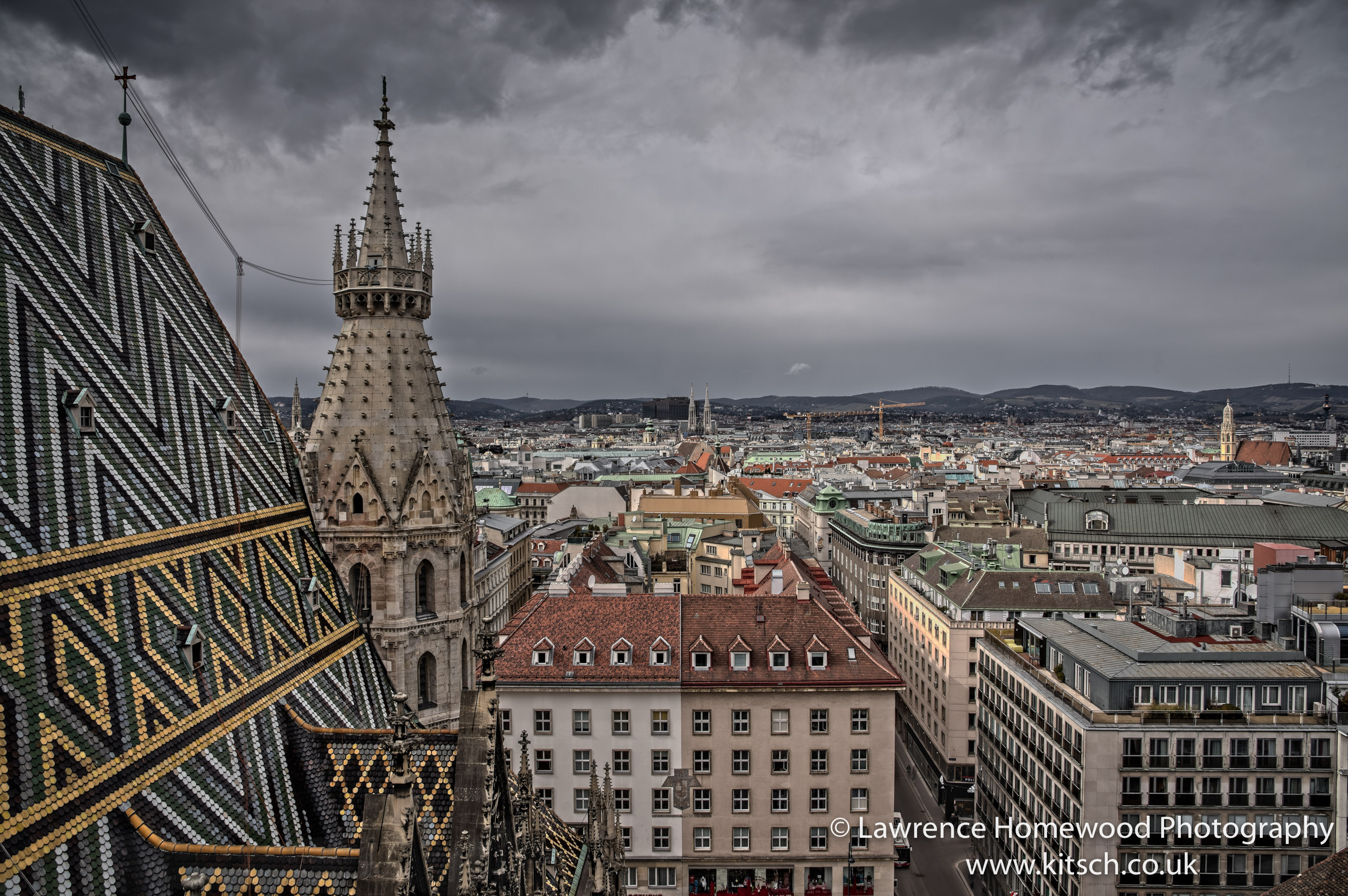 Rooftops of Vienna 2