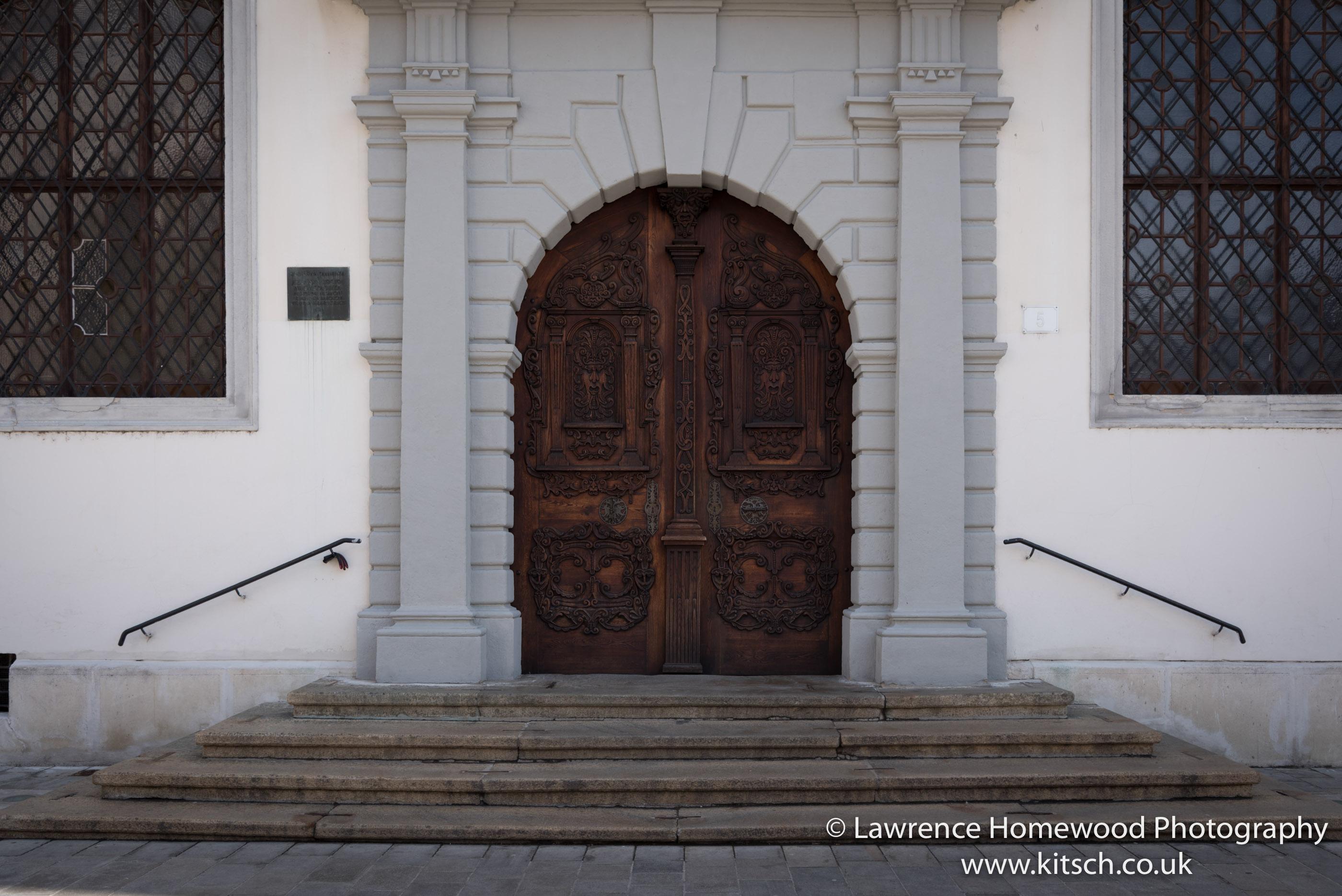 Bratislava Carved Doors