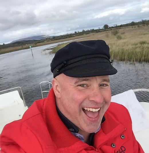 Author & Irish TV Chef Paul Treyvaud Travels show