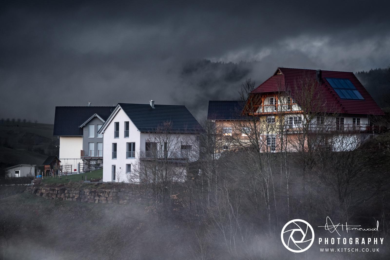 Oberharmersbach Moody Evening Mist