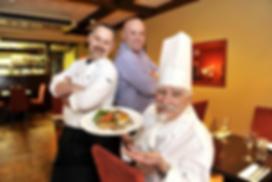 Author & Irish TV Chef Paul Treyvaud, Chef Mark Treyvaud, Master Chef Michel Treyvaud