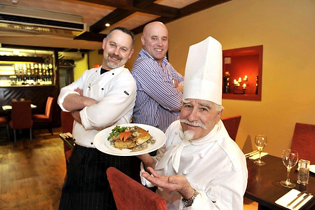 Author & Irish TV Chef Paul Treyvaud, Chef Mark Treyvaud, Master Chef Michel Treyvaud