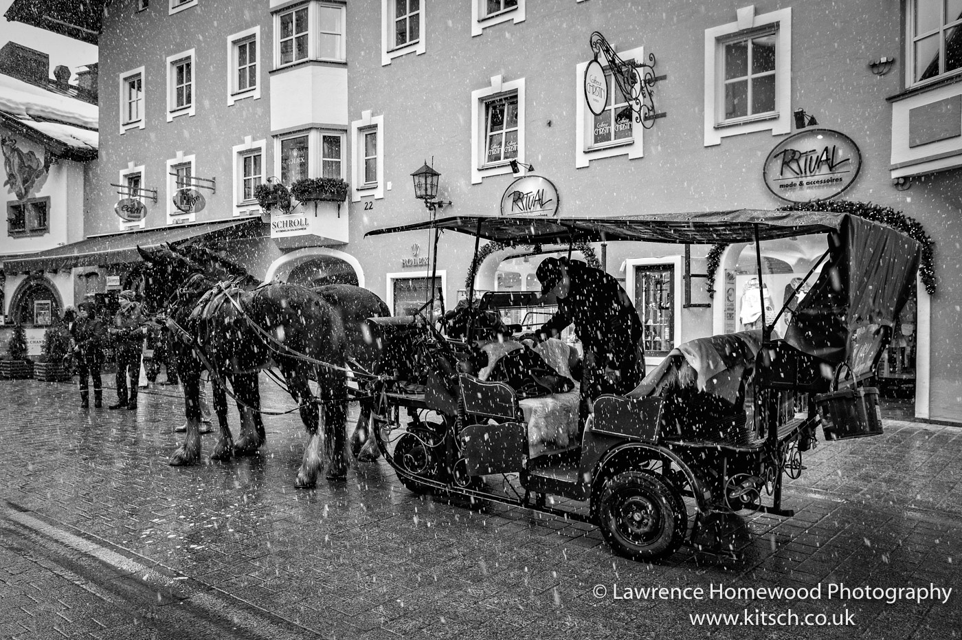 Horse and cart Kitzbuhl 1