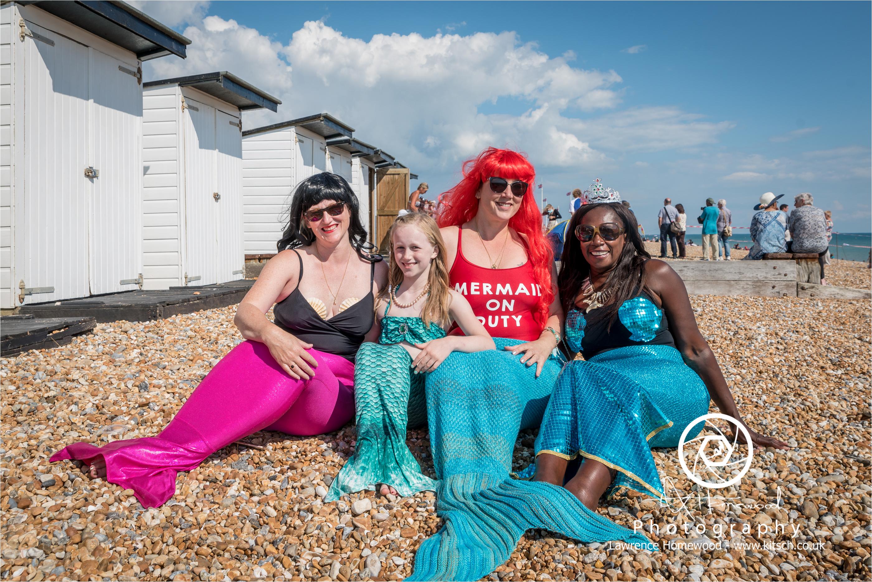 Mermaids on Duty