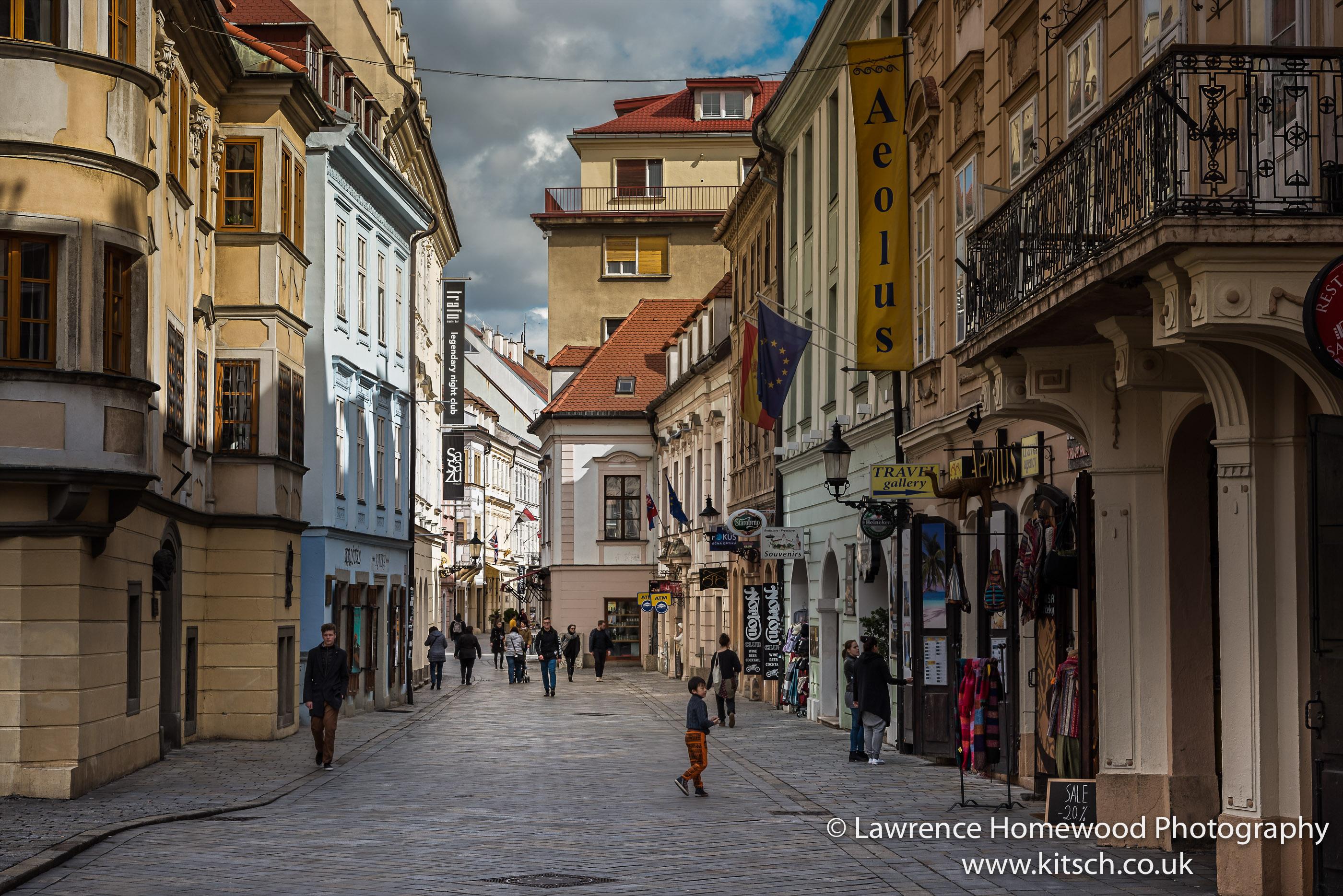 The Streets of Bratislava