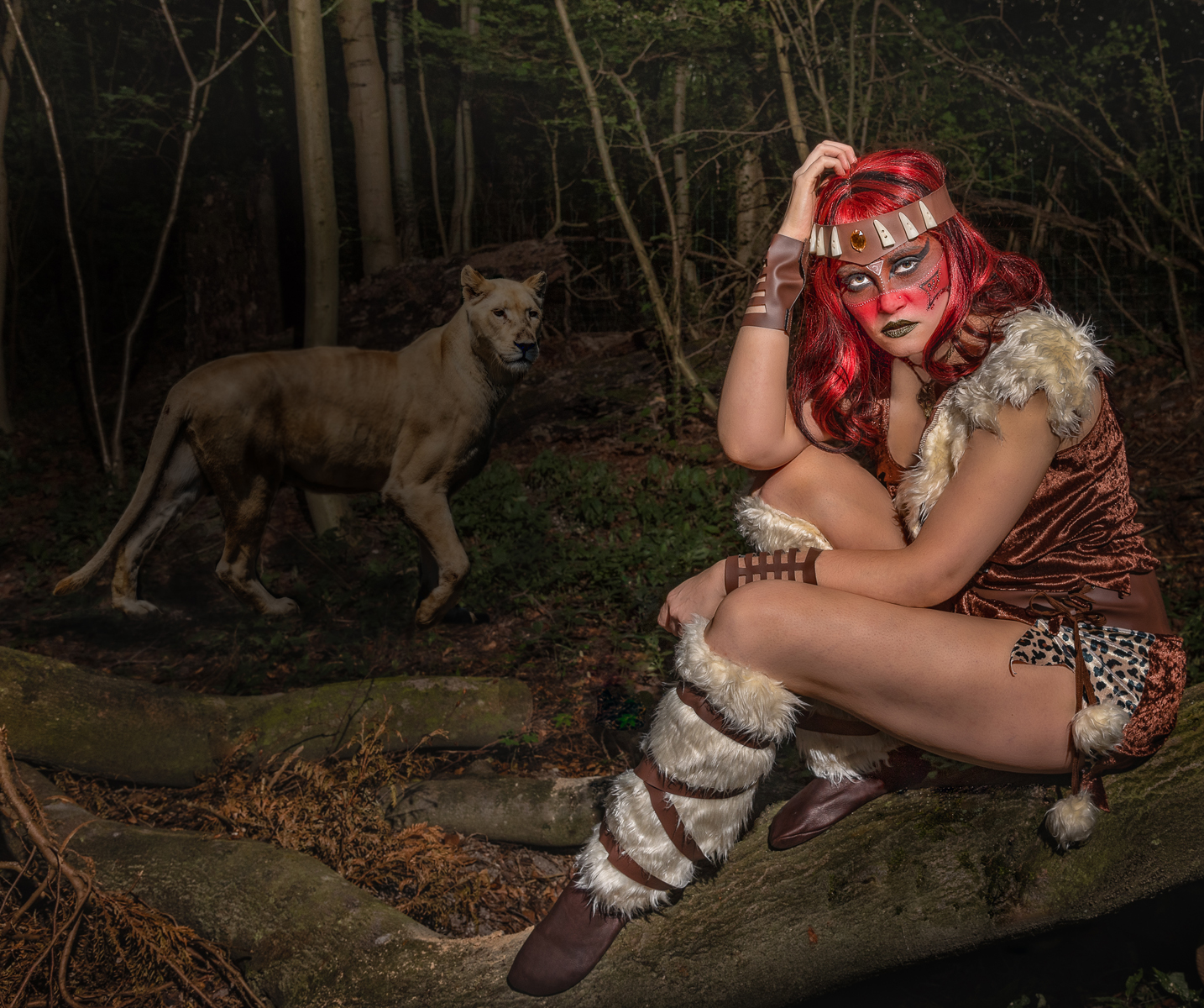 Tribal Theme Photo Shoot
