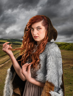 Viking Norse Photoshoot Seven Sister