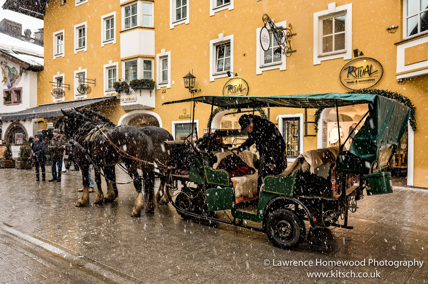 Horse and cart Kitzbuhl