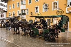 Horse and cart Kitzbuhl