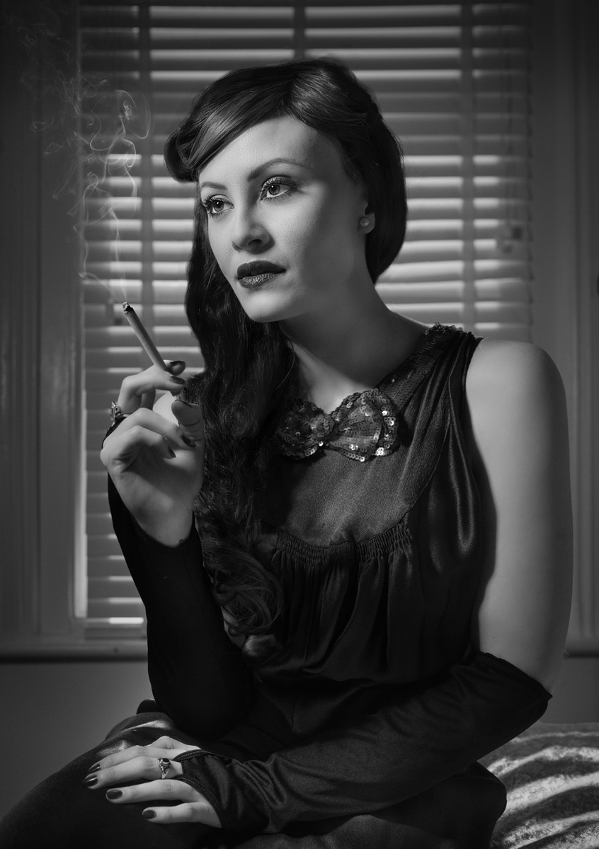 Film Noir Time Waits for No Man