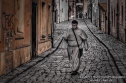 Bratislava streets man of God