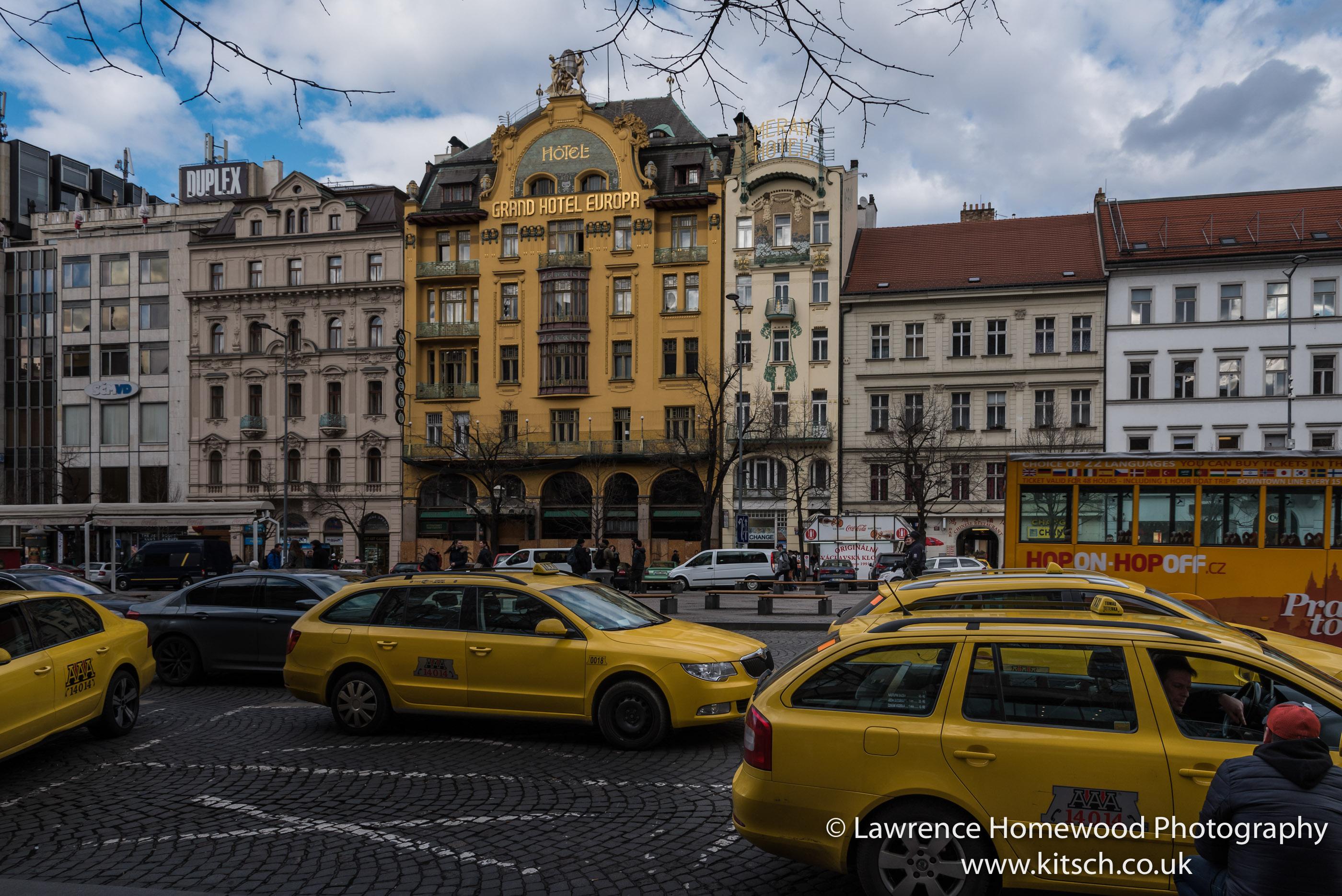 Yellow Cabs Europa Hotel Prague