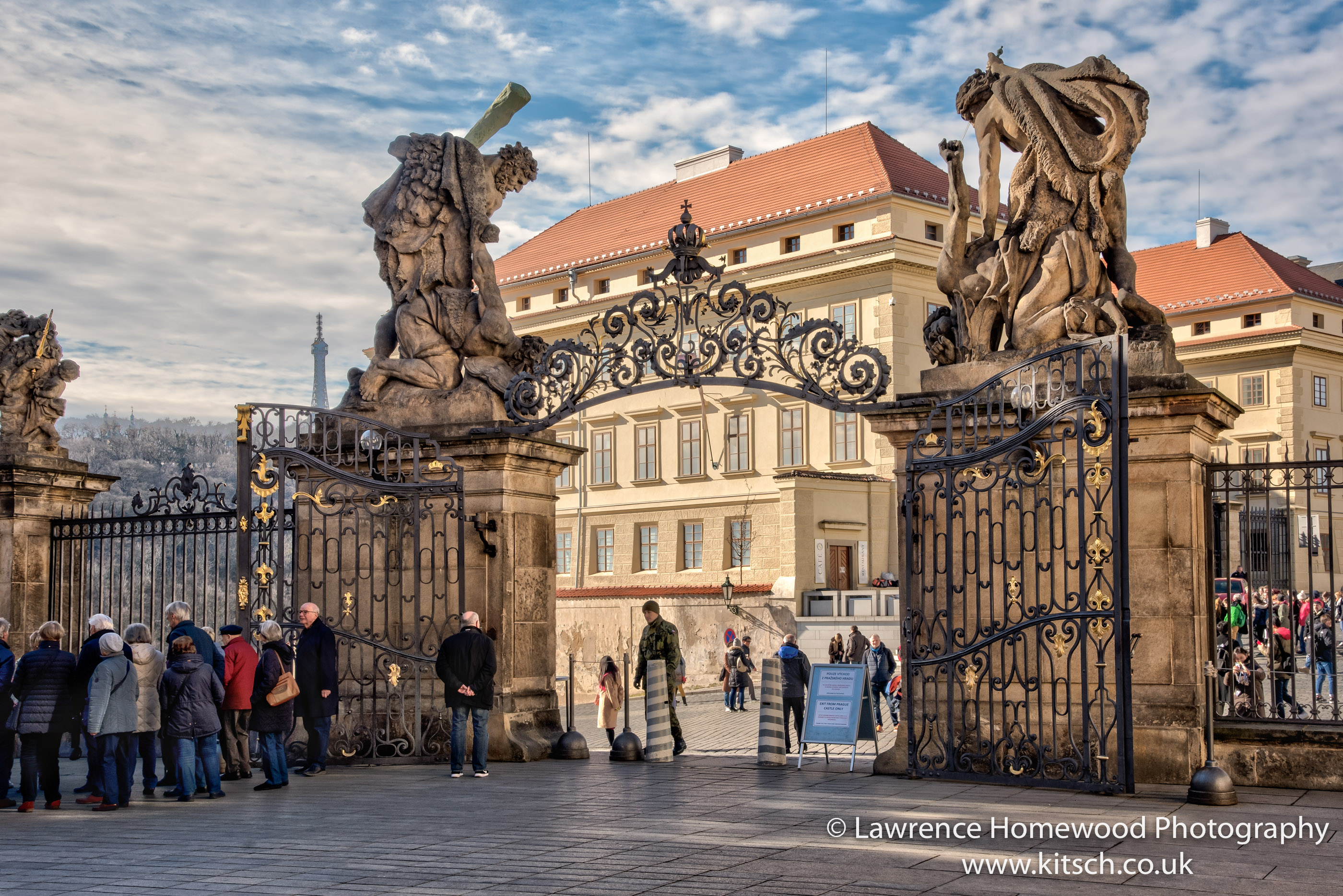 Prague Castle Matthias Gate