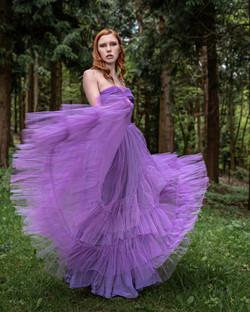 Woodland Photo shoot with Fern