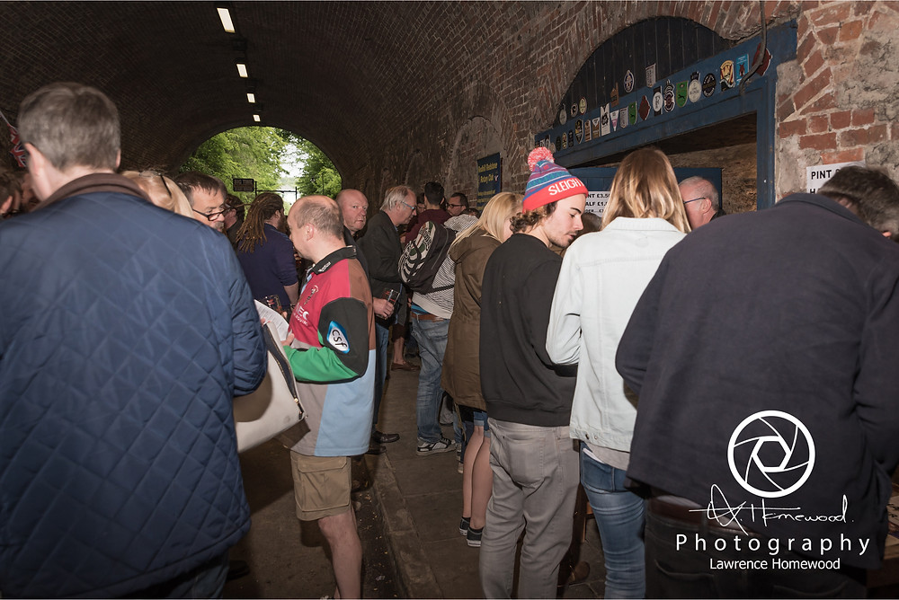 reigate tunnel beer festival