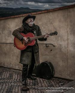 Prague Street Musician-2