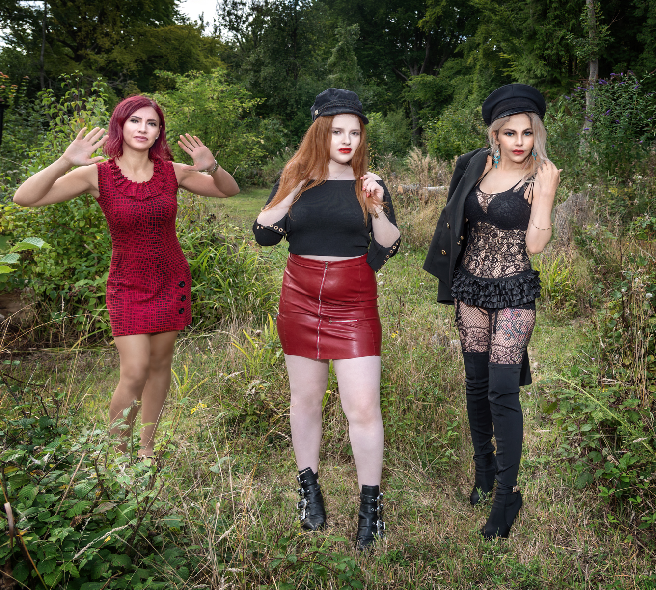 Model : Sarah, lily, Krisztina by Lawrence Homewood EFIAP