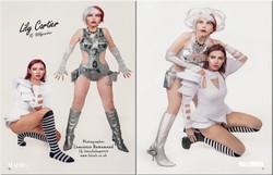 Futuristic Fashion Photoshoot - Shazzles Magazine 2020