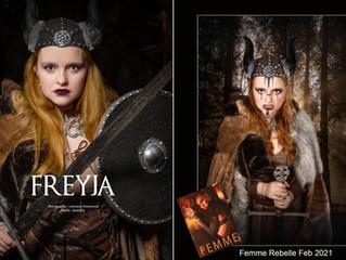 Freyja Femme Rebelle Magazine Feb 2021