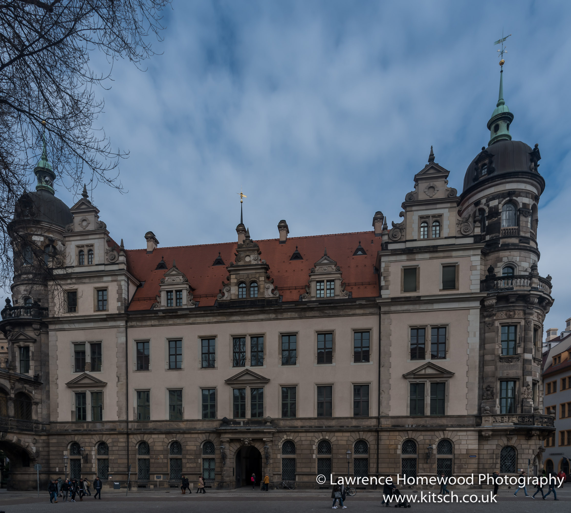 Dresden Baroque buildings