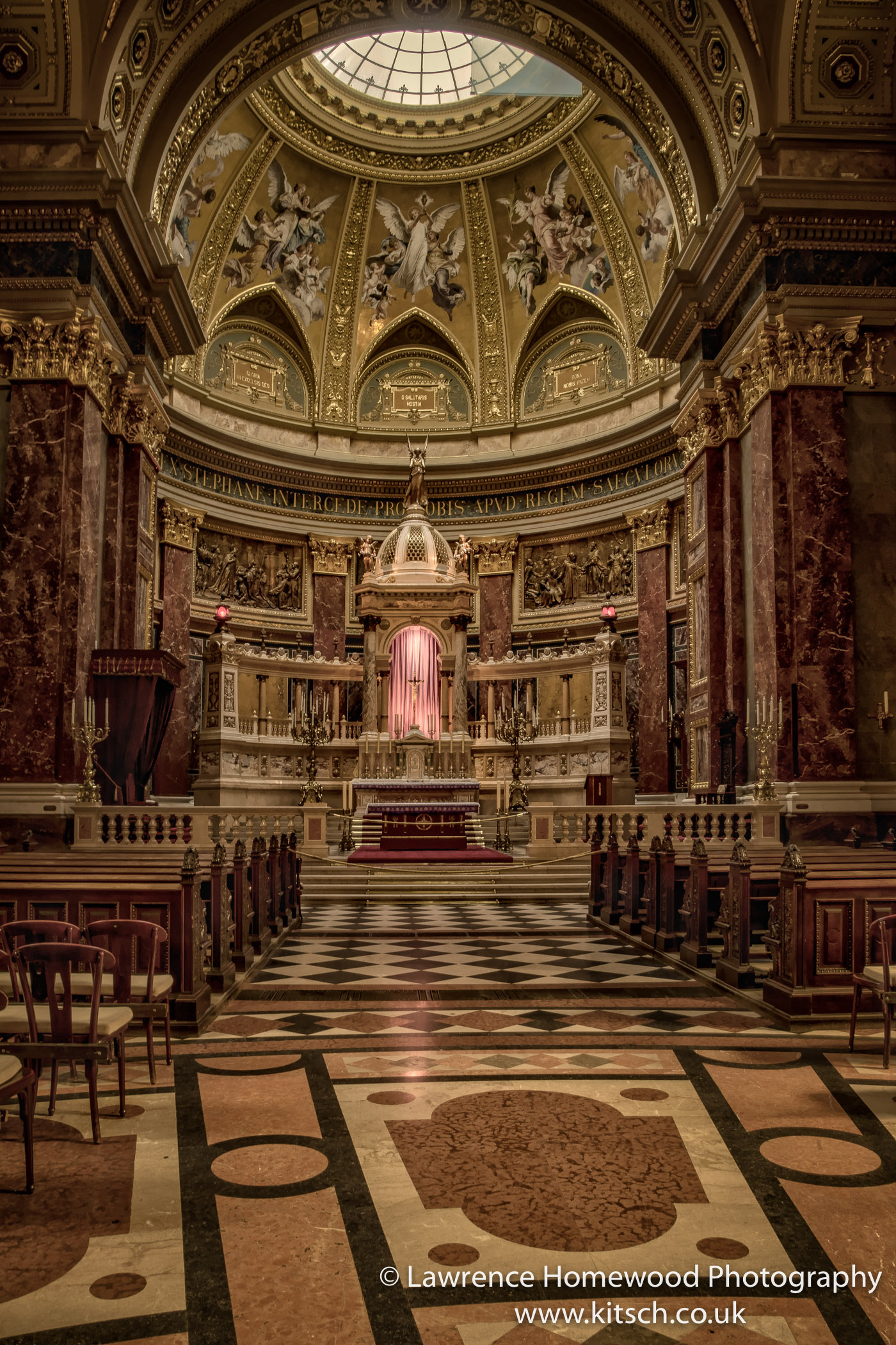 St Stephen's Basilica Interior 2