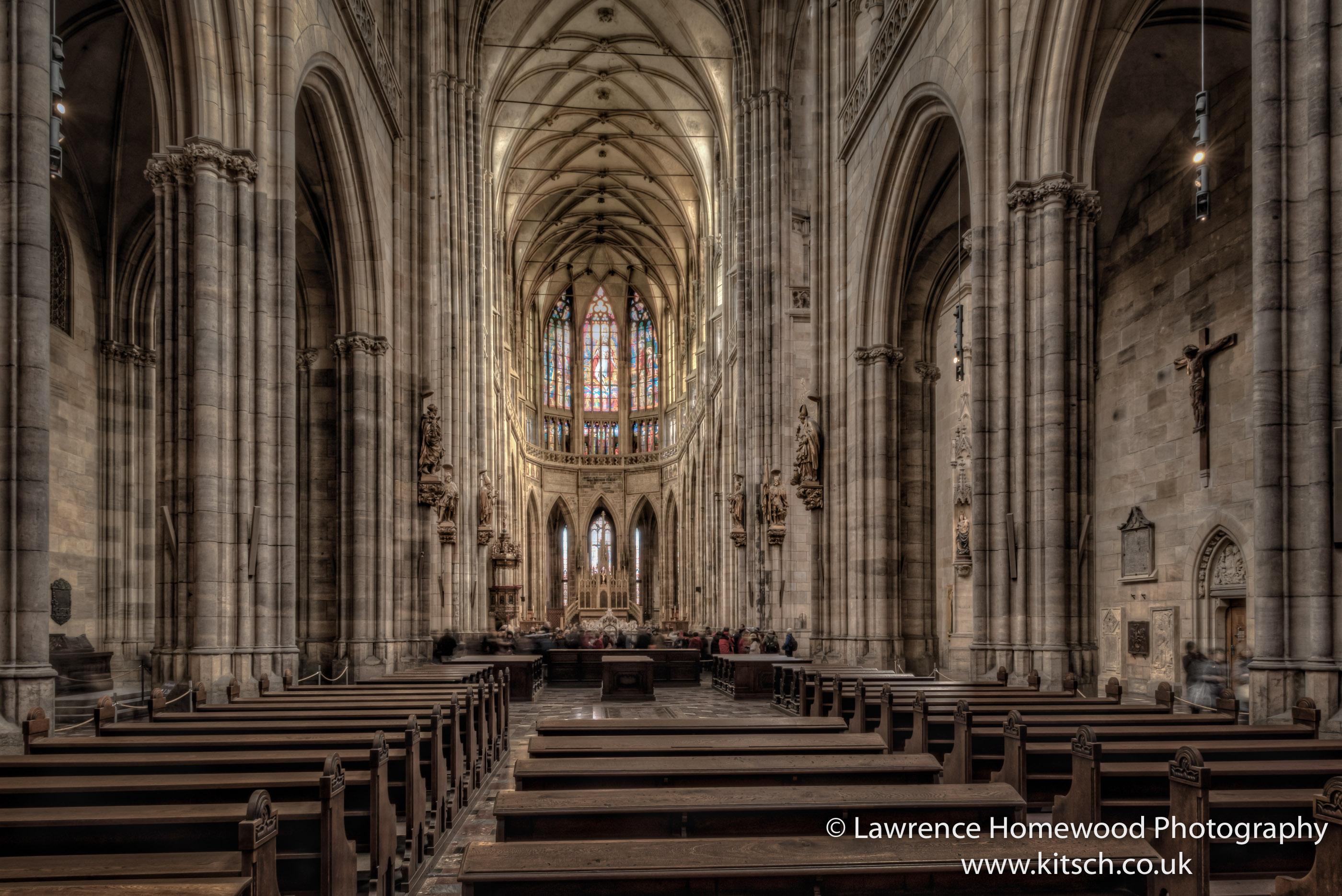 St Vitus Cathedral Prague Interior 3