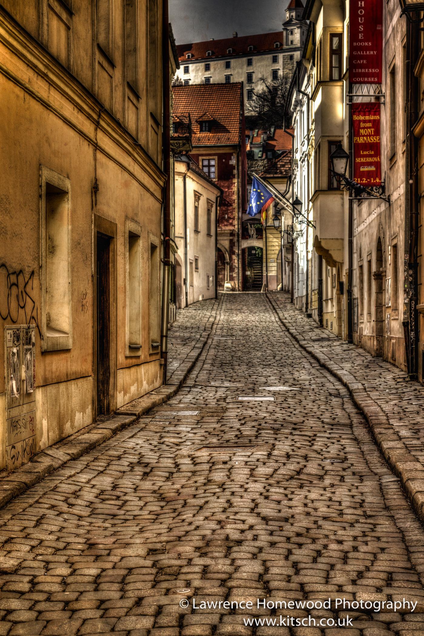 Bratislava Narrow Empty Streets 1