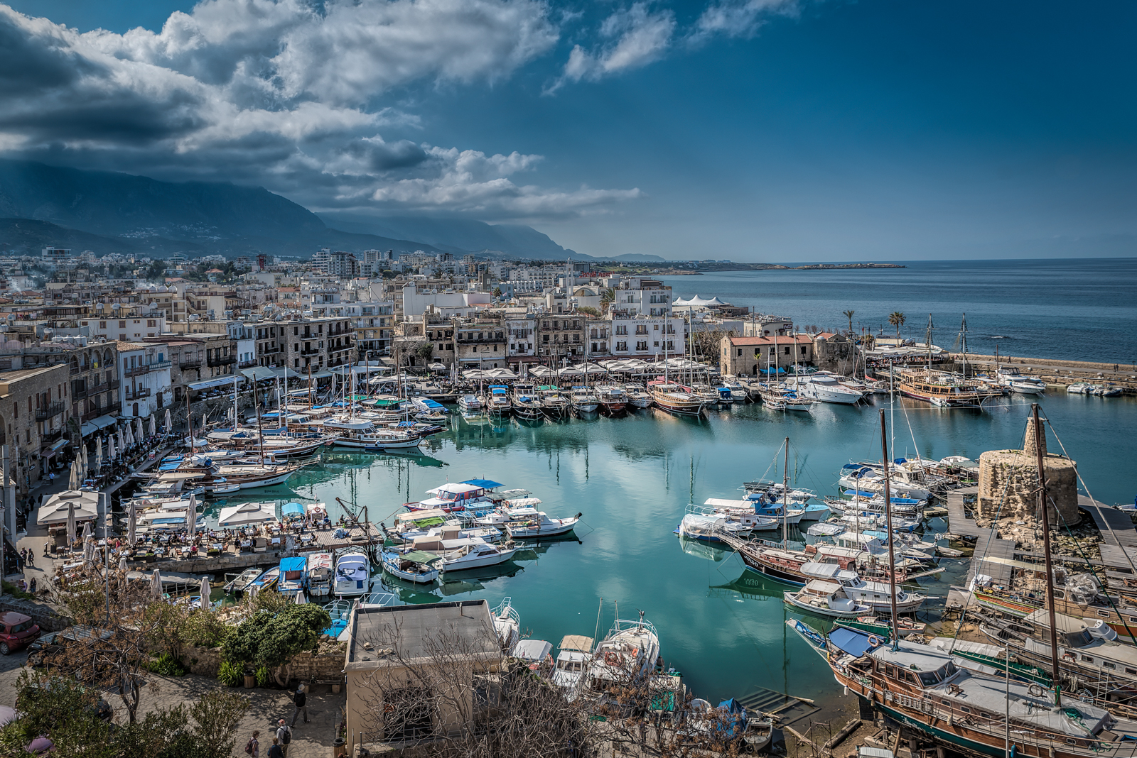Kyrenia Harbour North Cyprus