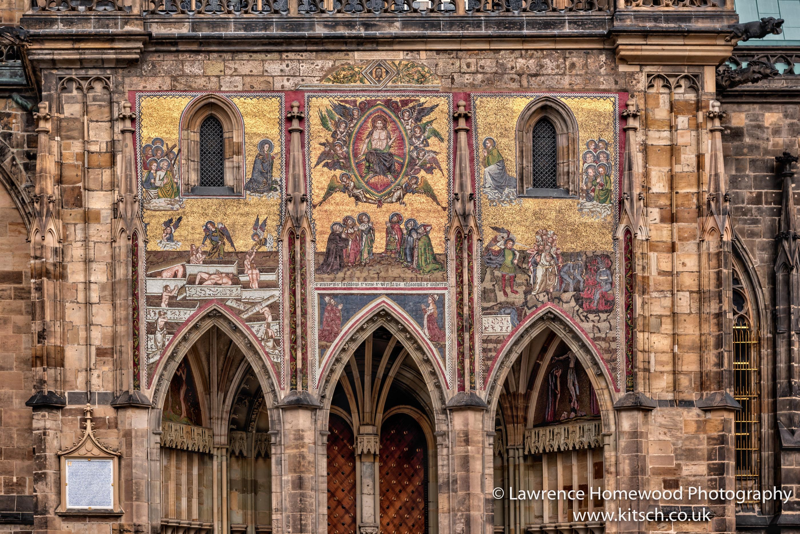 St Vitus Cathedral Prague entrance
