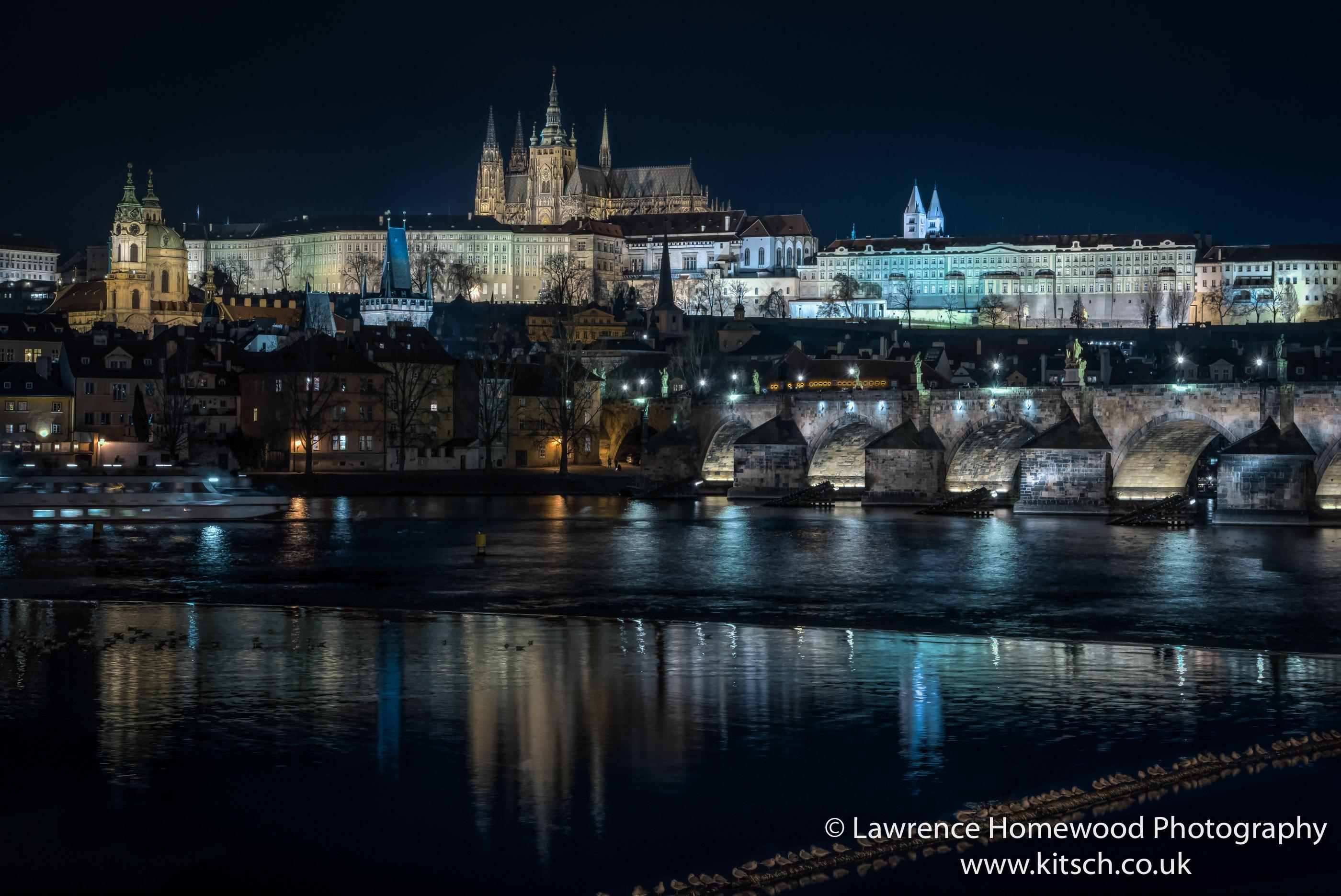 Prague at Night St Vitus