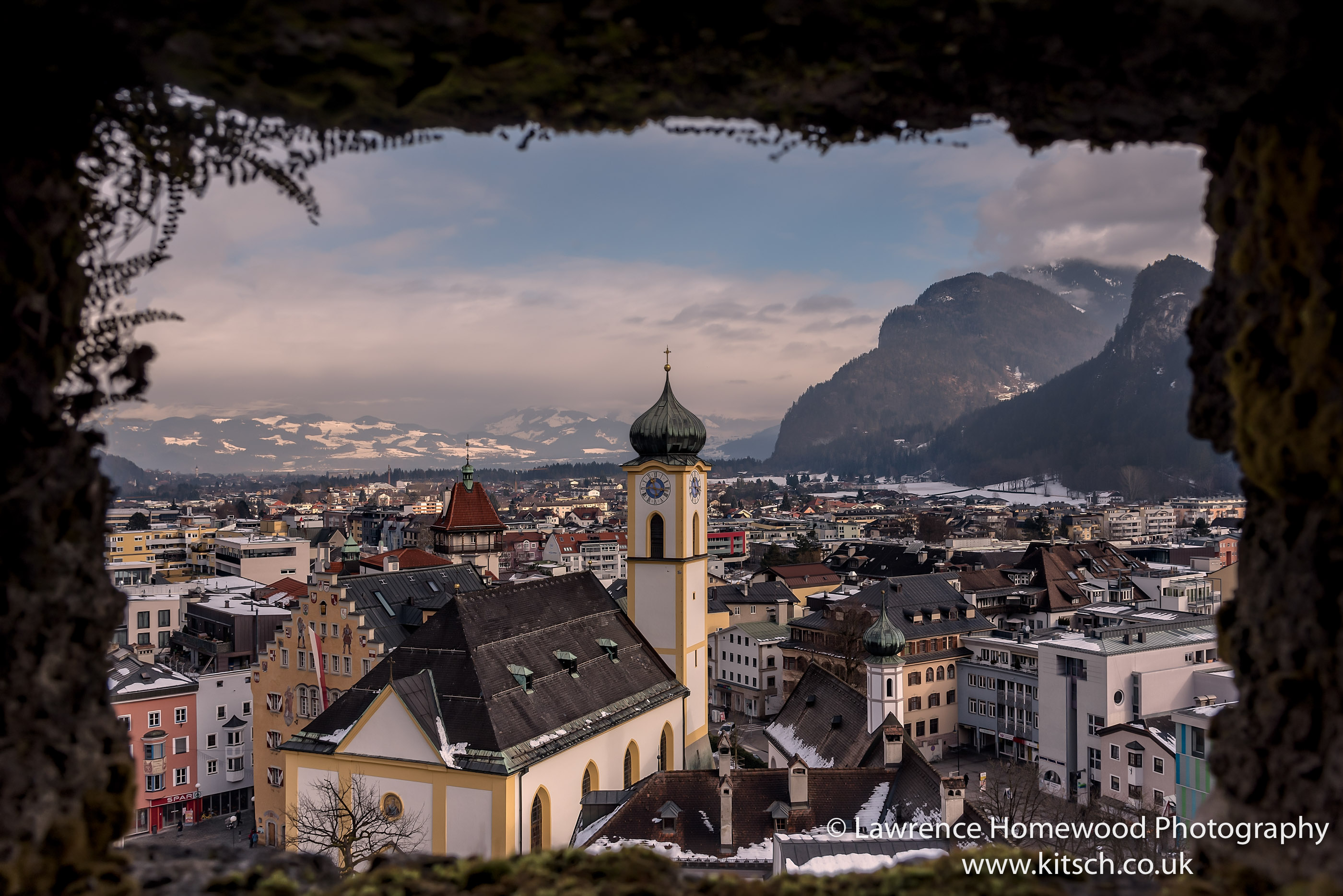 Kufstein window view