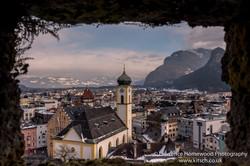 Kufstein window view