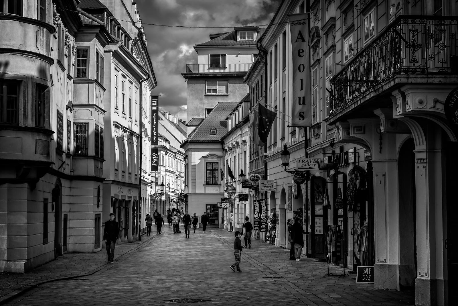 Street Scene Bratislava