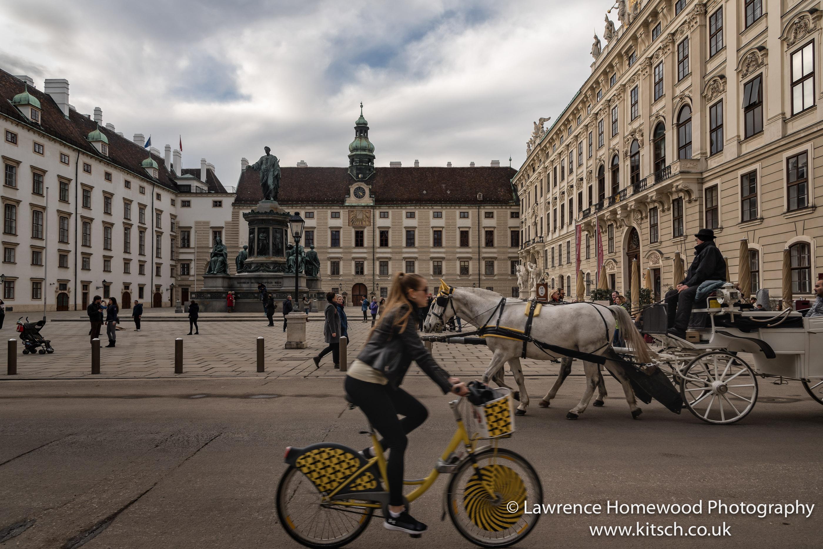 Vienna Hofberg Palace Modes of Transport