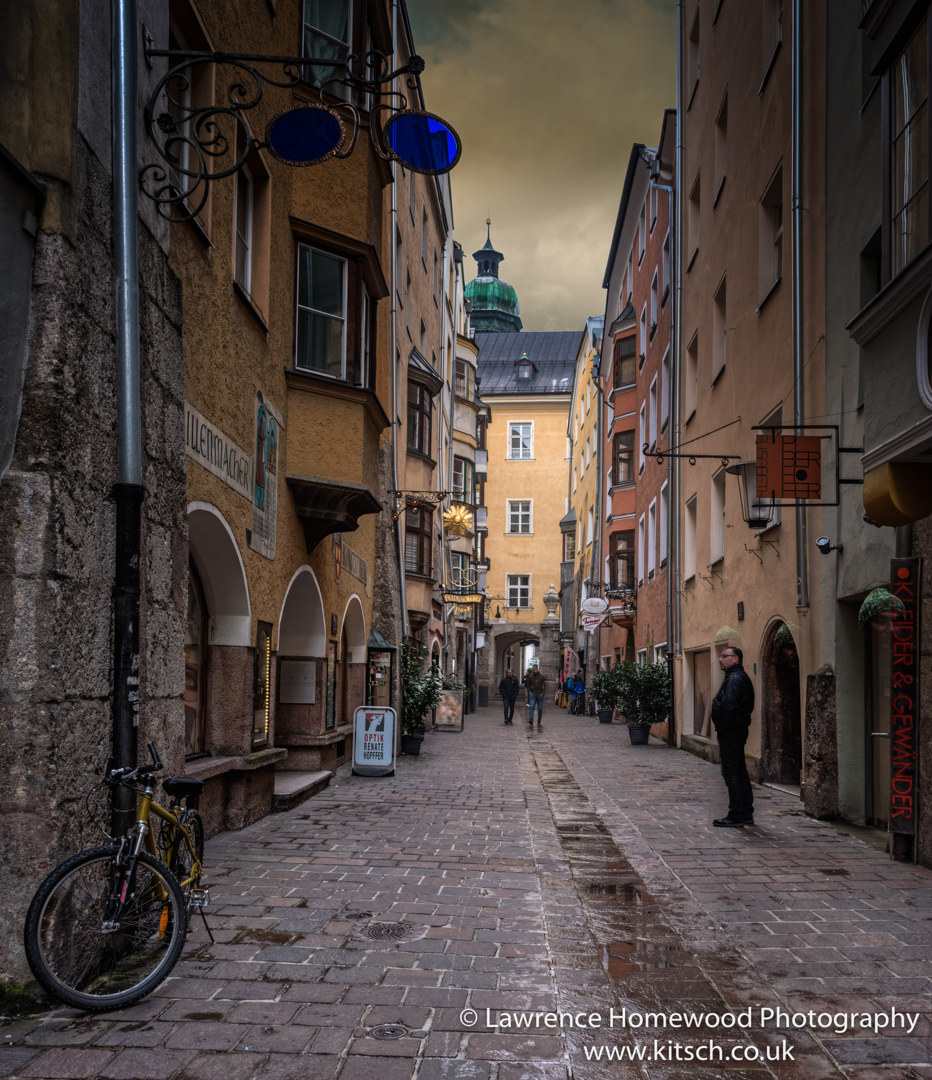 Quiet Streets of Innsbruck-2