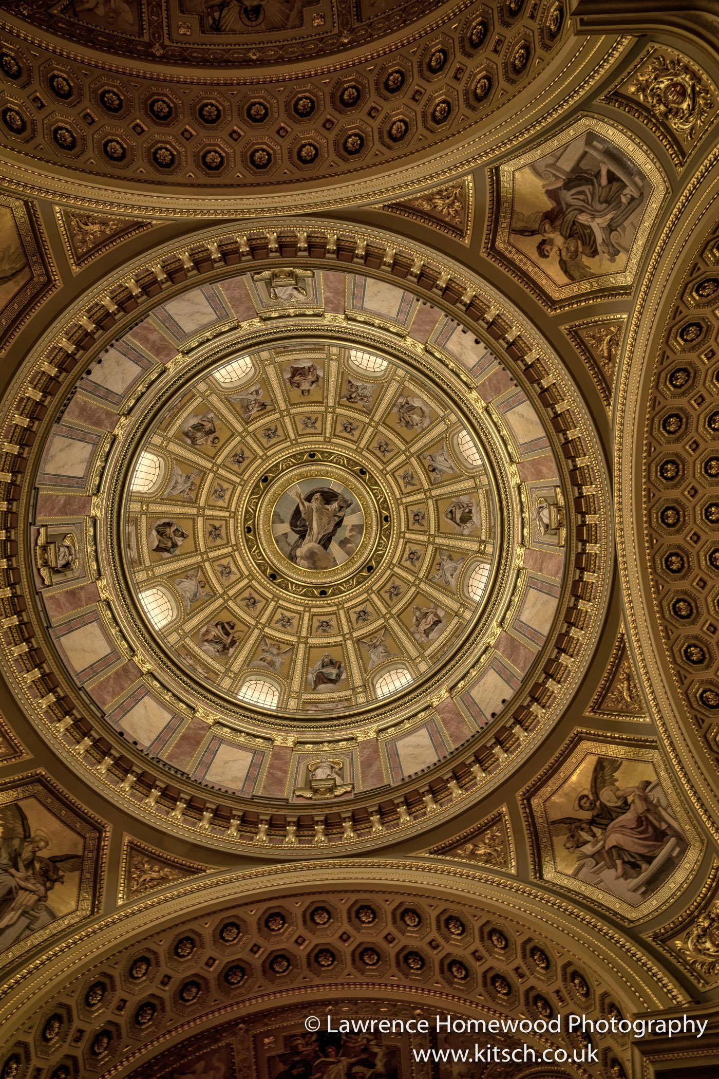 St Stephen's Basilica Ceiling
