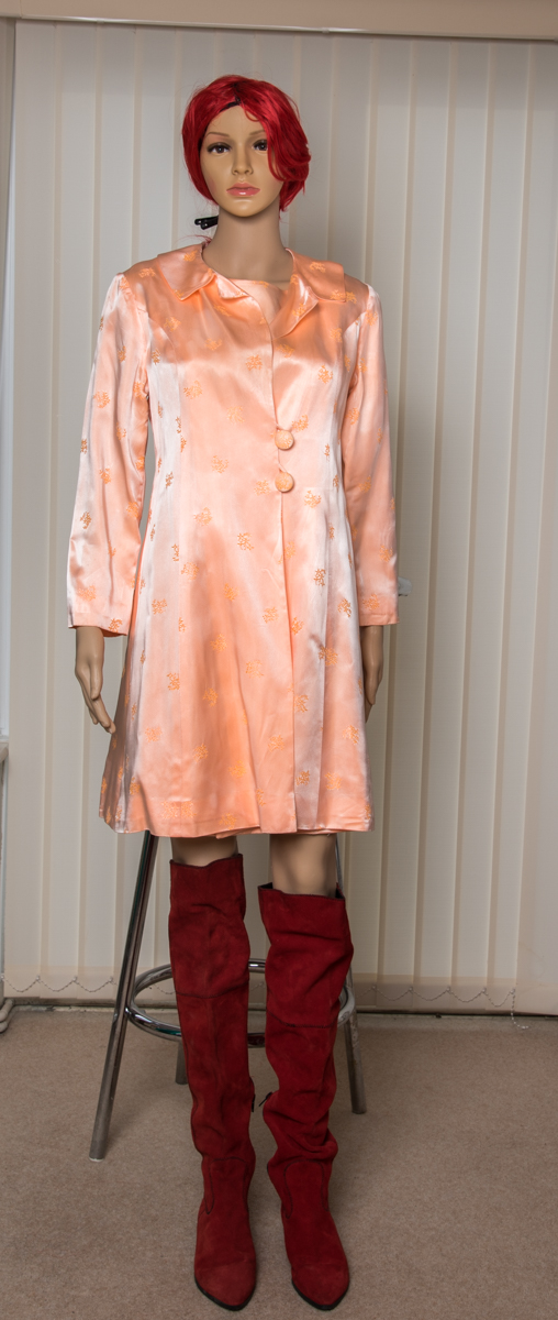 Peach 1960s outfit by michele