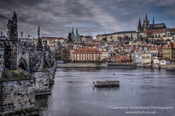 Charles Bridge View of St Vitus