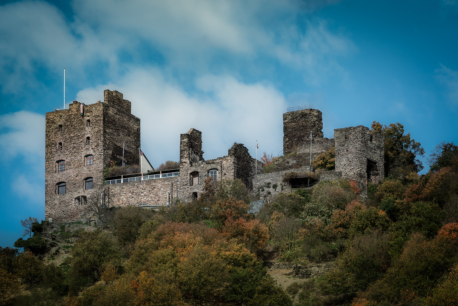 Ruined-Castle-on-the-Rhine