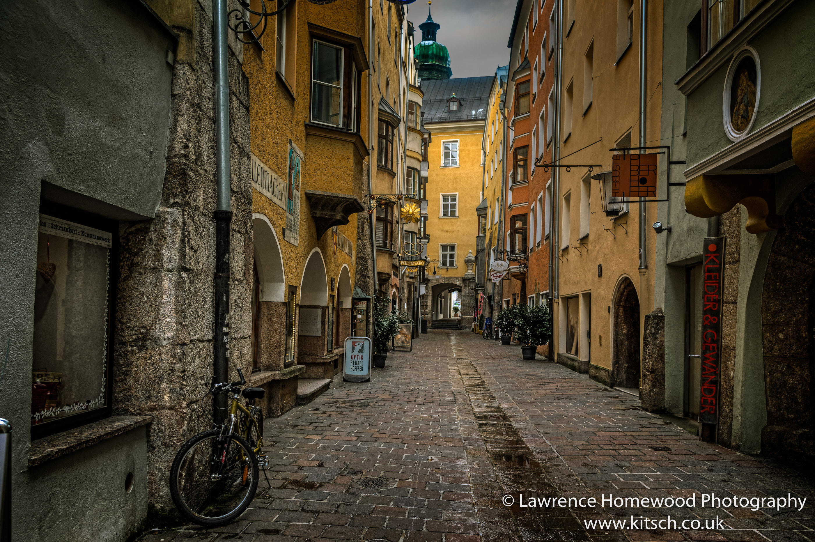 The Narrow Streets of Innsbruck