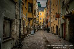 The Narrow Streets of Innsbruck