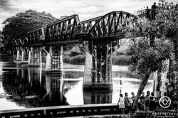 Film Noir Bridge over the River Kwai