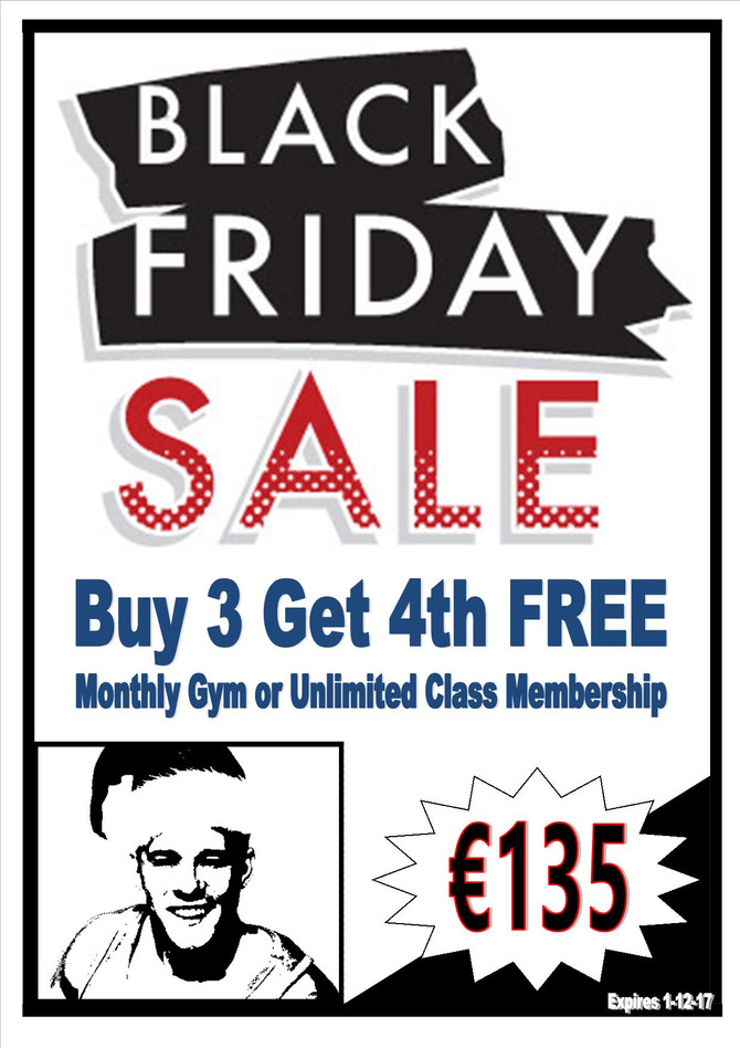 Black Friday Membership Sale | Kenmare's Gym