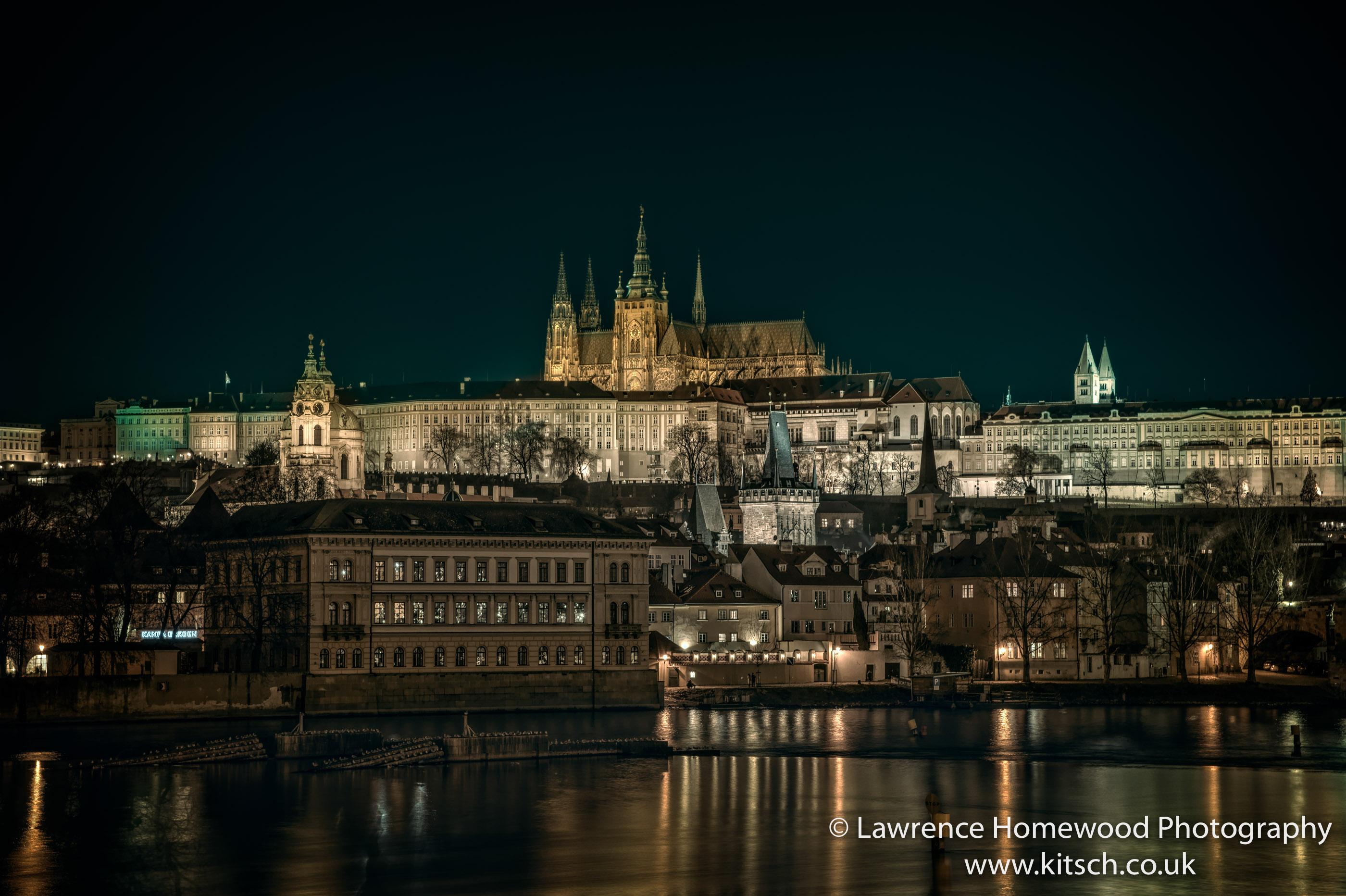 Prague at Night St Vitus 1