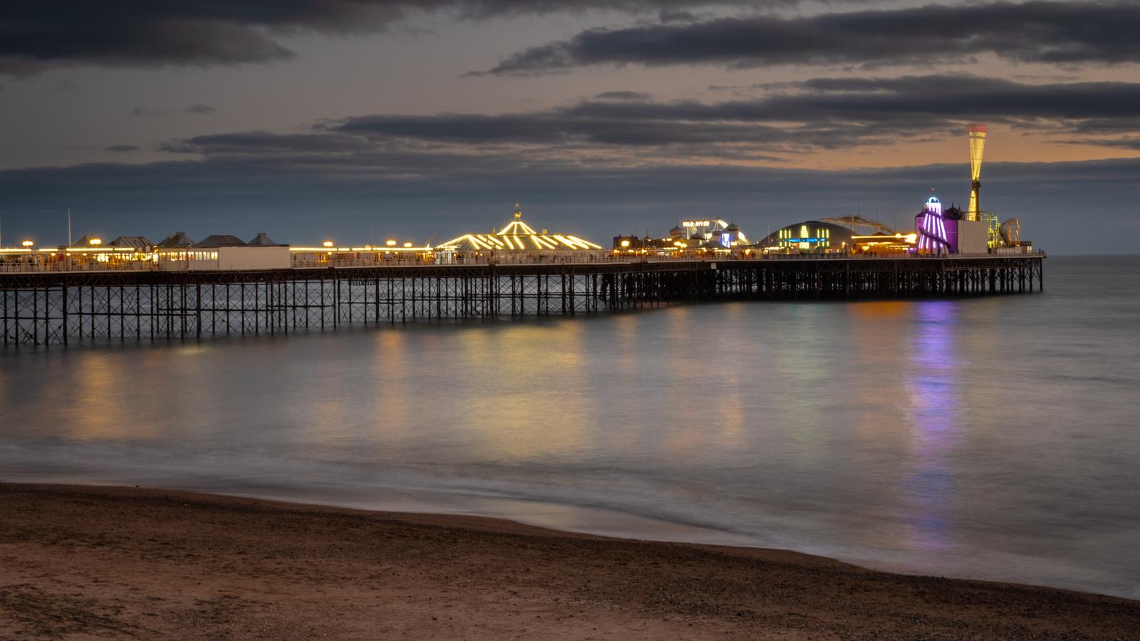 Brighton Pier at Night