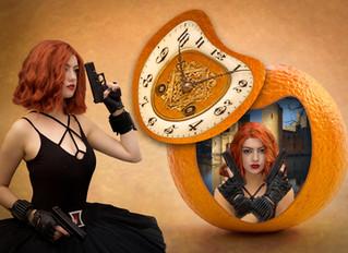 Clockwork Orange Inspires unusual winning picture for East Grinstead Camera  Club